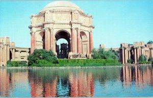 Palace of Fine Arts San Francisco California Postcard