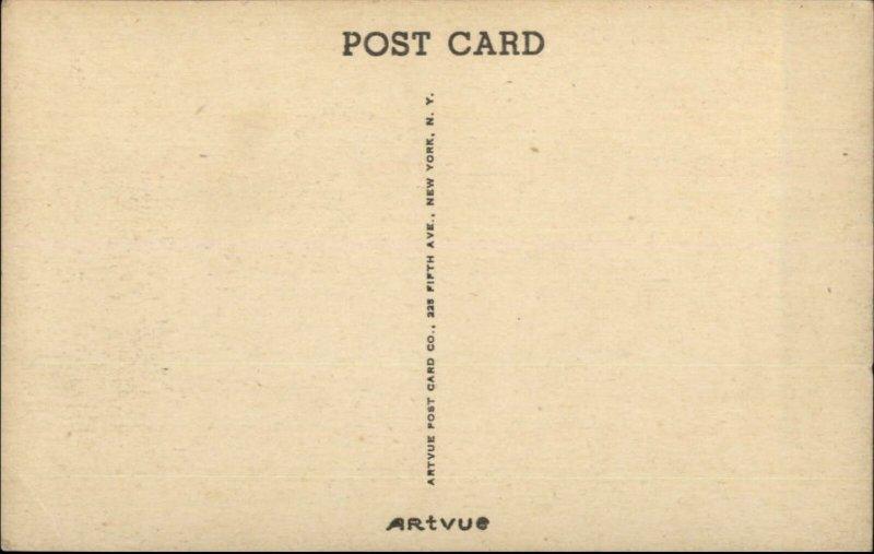 Pleasanton CA Old Hearst Ranch Swimming Pool Postcard