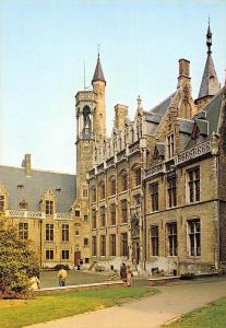 Belgium Brugge Herenhuis Gruuthuuse Erekoer Bruges Hotel Cour d'honneur