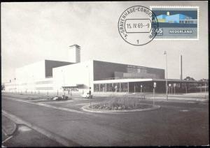 netherlands, DEN HAAG, Congrescentrum, Dutch Architect J.J.P. Oud