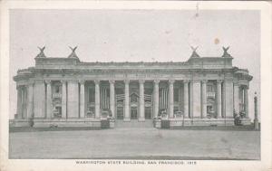 Panama-Pacific International Expo 1915 San Francisco Washington State Building