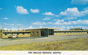 FORT MACLEOD , Alberta , Canada , 50-70s ;  Municipal Hospital