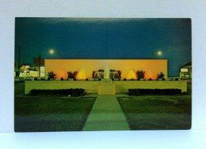 Rehoboth Beach Delaware Bandstand & Fountain Postcard
