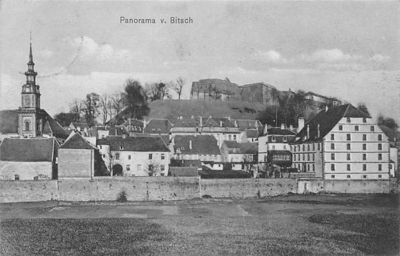 France Bitche Panorama von Bitsch 1912