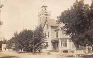 D14/ Tyler Danebod Minnesota Mn Real Photo RPPC Postcard Home Tower c1910