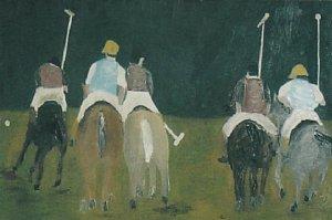Robert Calcagno , Polo Ponies , 1980s