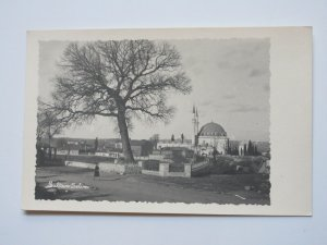 MOSQUE SULTAN SELIM MIDDLE EAST LEBANON SYRIA VINTAGE REAL PHOTO POSTCARD