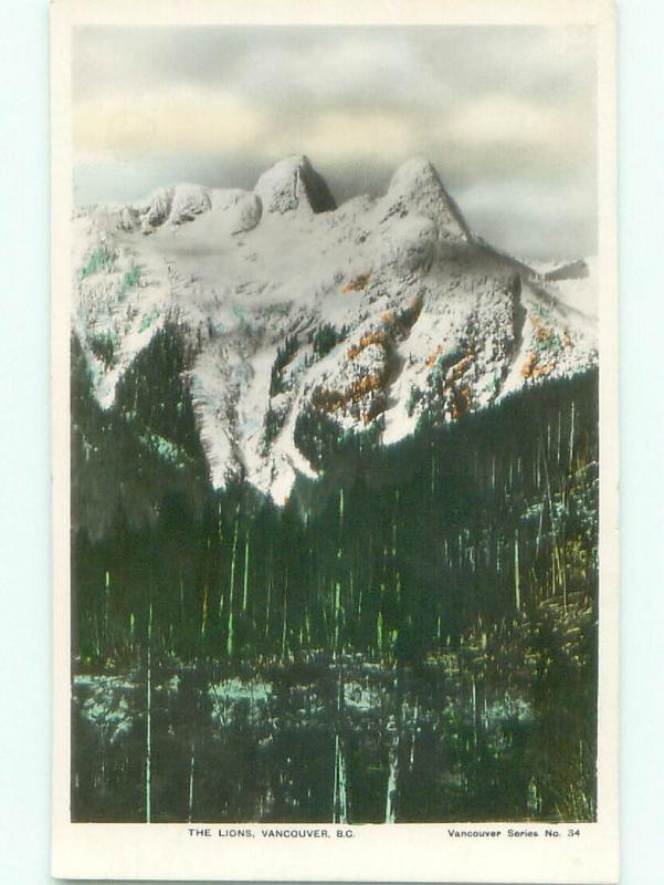 1930's rppc NICE VIEW Vancouver British Columbia BC W0984