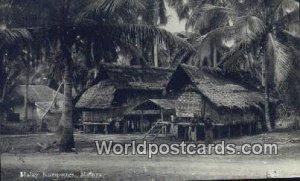 Real Photo Malay Kampong Malaysia Unused