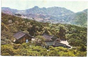 Sudok Temple at Toksan-myon 22 kilometers from Yesan, South Korea, Chrome