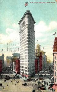 New York City Flat Iron Building 1910