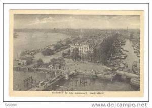 Rotterdam, Netherlands, 1910-20s Panorama van af Wittehuis