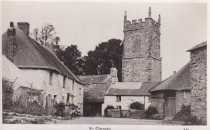 RP; ST. CLEMENT, Cornwall, England, 1900-1910's; St. Clement Civil Parish