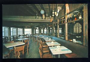Woods Hole, Massachusetts/Mass/MA Postcard, Landfall Restaurant, Cape Cod