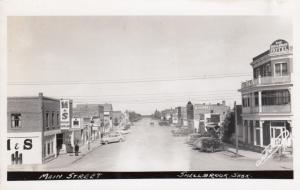 RP: SHELLBROOK , Sask., Canada , 1930-40s ; Main Street