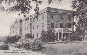 Iowa Lamoni Walker Hall Graceland College Albertype