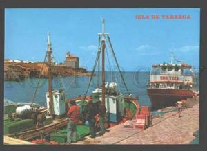 092557 SPAIN LIGHTHOUSE Isla de Tabarca Port Old photo PC