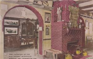 RIVERSIDE, California; Interior of the Old Adobe Glenwood Mission Inn, 00-10s