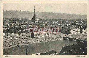 Old Postcard Panorama Torino