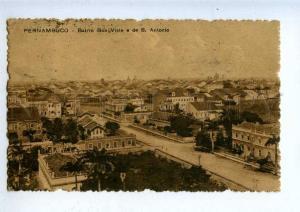 203279 BRAZIL PERNAMBUCO Bairro Boa S.Antonio Vintage RPPC