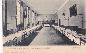 Refectory, Convent Of The Sacred Heart, Roehampton, S. W., London, England, U...