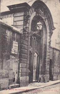 PARIS, France, 1900-1910´s; Porte De L'Ancien Hotel D'Hinnisdal, Rue Cassette