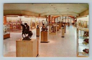 Cody WY- Wyoming, Whitney Gallery Western Art, Museum, Chrome Postcard