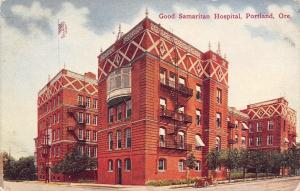 Portland OR~Good Samaritan Hospital~Fancy X Design~Patios~Bay Windows 1910