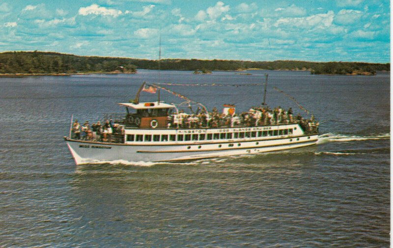 1000 ISLANDS, Ontario, Canada, 1950-60s; Miss Kingston, Passenger Boat