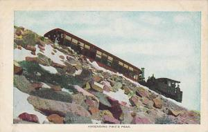 Ascending Pike's Peak, Colorado, 1900-1910s