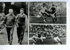 200122 USSR football team 1970-1973 years old postcard