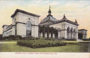 Memorial Hall, Fairmount Park, PHILADELPHIA, Pennsylvania, 10-20s