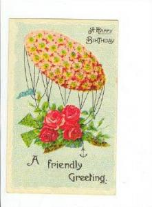 Flower airship Bouquet sends A Friendly Greeting, 1900-1910s