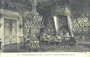 Fontainebleau, France, Carte, Postcard Chambre a Coucher de Marie Antoinette ...