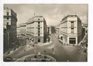RP  Roma - Una veduta delle vie Barberni e L. Bissolati,40-60s  ITALY