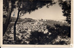 RPPC JUDAICA, Israel, Safad, Safed, Zfad, Holy City, 1962, Kabbalah, Real Photo