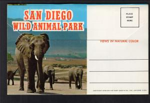 San Diego Wild Animal Park,San Diego,CA Souvenir Folder