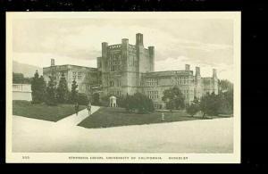 CA, Berkeley, California, University of California, Stevens Union, Albertype