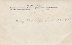 RP:BURRY PORT ,Carmarthenshire , WALES , 00-10s ; Standard VI & VII class