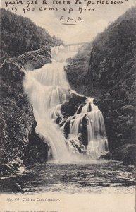 QUEBEC, Canada, 1900-1910s; Chutes Ouiatchouan