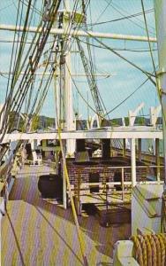 Connecticut Mystic Main Deck Of Charles W Morgan Mystic Maritime Museum Mysti...