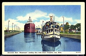 Excursion Boat Messenger in the Soo Canal