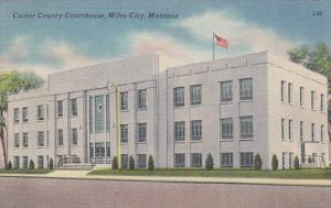 Custer County Courthouse, MILES CITY, Montana, PU-1954
