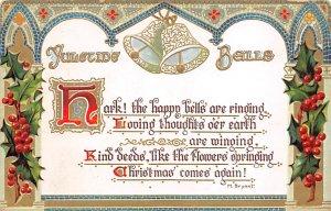 Christmas Postcard Raphael Tuck & Sons Publishing Postal used unknown