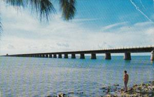 Seven Mile Bridge The Most Famous Span Of The Overseas Highway To Key West Fl...