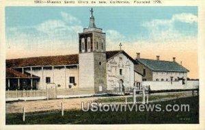 Mission San Clara de Asis , CA