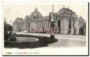 Paris - 8 - Petit Palais - Champs Elysees - Old Postcard -