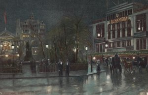 LONDON , England , 00-10s ; Leicester Square at night ; TUCK 768