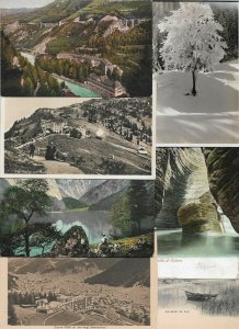 Switzerland Clarens Davos Mürren and more Postcard Lot of 20 01.12