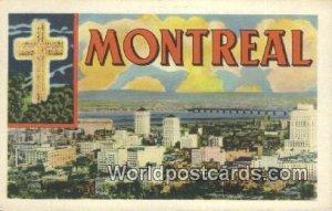 Montreal Canada Unused